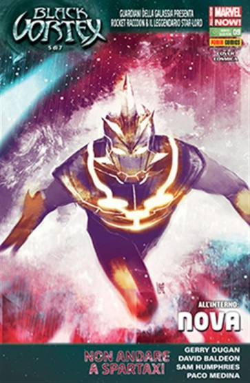 ROCKET RACCOON & IL LEGGENDARIO STAR-LORD 9 - COVER B COSMICA