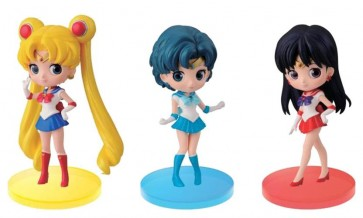 SAILOR MOON - Q POSKET VOL. 1 - SAILOR MARS - BANPRESTO STATUA 7CM