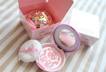 SAILOR MOON SHINING MOON POWDER - PORTA CIPRIA BANDAI