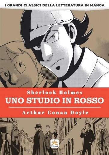 SHERLOCK HOLMES - UNO STUDIO IN ROSSO