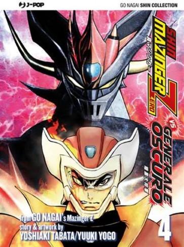 SHIN MAZINGER ZERO VS IL GENERALE OSCURO 4