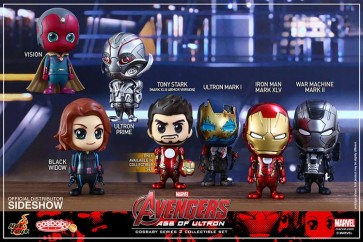 SIDESHOW COSBABY - AVENGERS AGE OF ULTRON S.2 - COMPLETE SET (7 PEZZI)