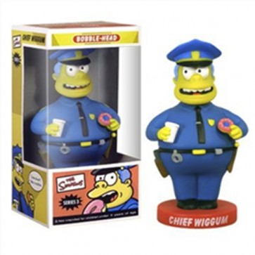SIMPSONS - BOBBLE HEAD CHIEF WIGGUM