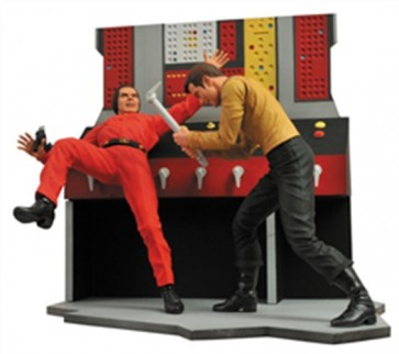 STAR TREK - KIRK VS KHAN DIAMOND SELECT ACTION FIGURE 18 CM