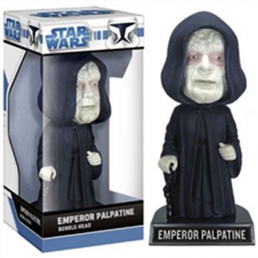STAR WARS - BOBBLE HEAD EMPEROR PALPATINE 17CM