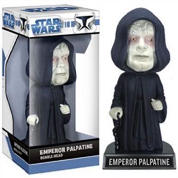 STAR WARS - BOBBLE HEAD EMPEROR PALPATINE 17CM