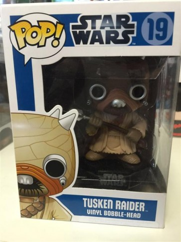 STAR WARS - POP FUNKO 19 TUSKEN RIDER 9 CM