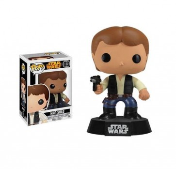 STAR WARS - POP FUNKO VINYL FIGURE 03 HAN SOLO 9 CM