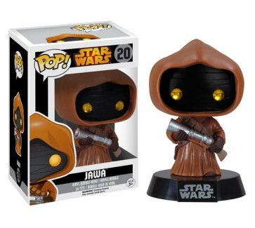 STAR WARS - POP FUNKO VINYL FIGURE 20 JAWA BLACK BOX 10CM