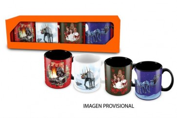 STAR WARS - TAZZA - ESPRESSO MUG CHRISTMAS SET