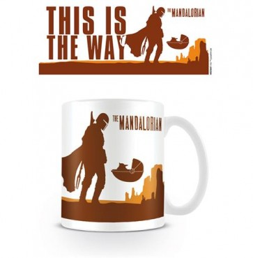 STAR WARS: THE MANDALORIAN: TAZZA 315ML - THIS IS THE WAY