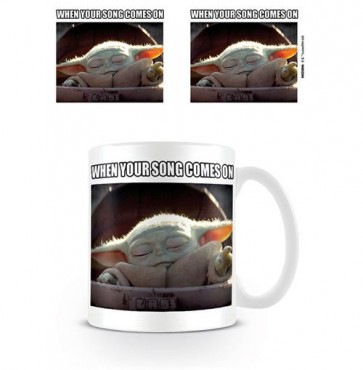 STAR WARS: THE MANDALORIAN: TAZZA 315ML - WHEN YOUR SONG COMES ON