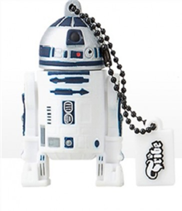 STAR WARS CHIAVETTA USB R2-D2 PEN DRIVE FLASH MEMORY 8GB