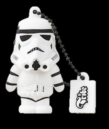 STAR WARS CHIAVETTA USB STORMTROOPER PEN DRIVE FLASH MEMORY 8GB
