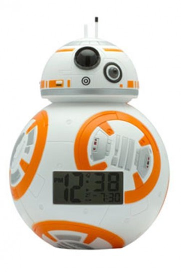STAR WARS EPISODE VII - BB-8 ALARM CLOCK WITH LIGHT - 23CM