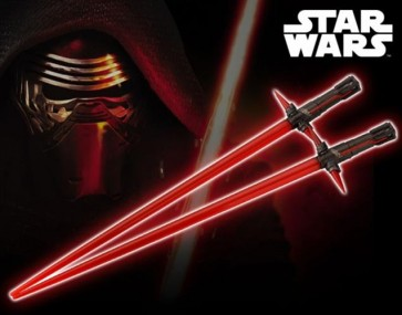STAR WARS EPISODE VII - LIGHTSABER KYLO REN CHOPSTICKS