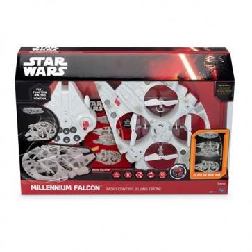 STAR WARS EPISODE VII - MILLENIUM FALCON QUADROCOPTER TELECOMANDATO - 35CM