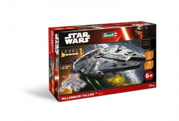 STAR WARS EPISODE VII - REVELL MODEL KIT - MILLENIUM FALCON 20CM