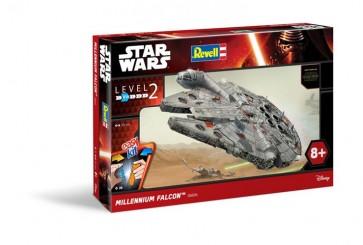 STAR WARS EPISODE VII - REVELL MODEL KIT - MILLENIUM FALCON 37CM