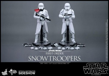 STAR WARS EPISODE VII - SNOWTROOPER 1ST ORDER SET - 12' FIGURE HOT TOYS