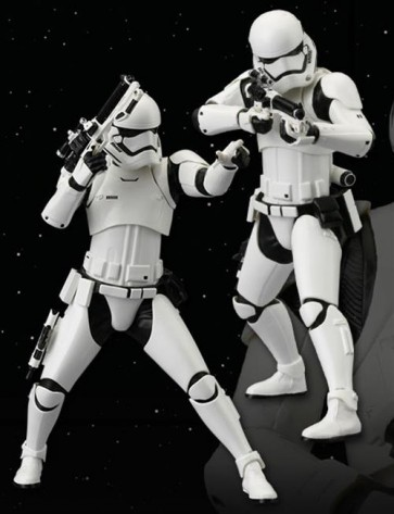 STAR WARS EPISODE VII - STORMTROOPER FIRST ORDER 2 PACK - ARTFX STATUE