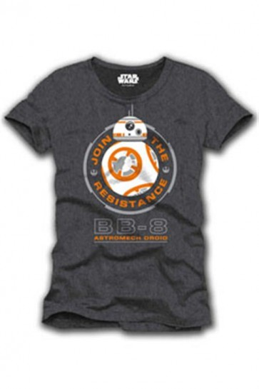STAR WARS EPISODE VII - T-SHIRT UOMO - BB-8 - M