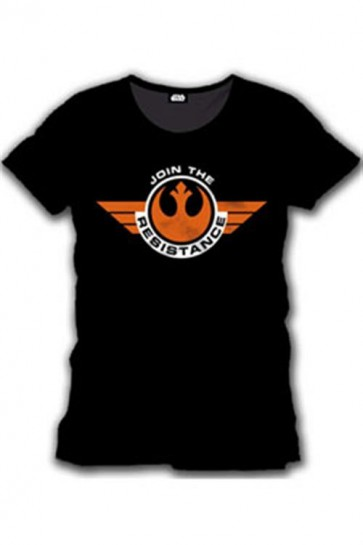 STAR WARS EPISODE VII - T-SHIRT UOMO - JOIN THE RESISTANCE - M