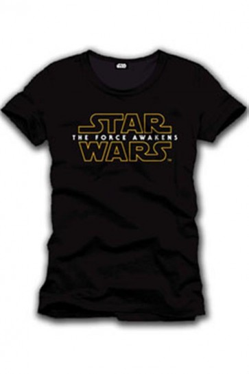STAR WARS EPISODE VII - T-SHIRT UOMO - LOGO - L