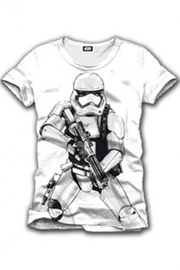 STAR WARS EPISODE VII - T-SHIRT UOMO - STORMTROOPER - M