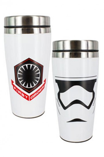 STAR WARS EPISODE VII - TRAVEL MUG - FIRST ORDER STORMTROOPER