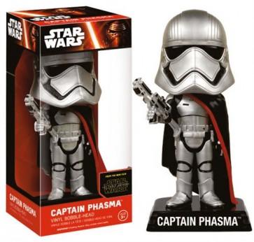 STAR WARS EPISODE VII - WACKY WOBBLER - CAPTAIN PHASMA - BOBBLE HEAD 15CM