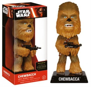 STAR WARS EPISODE VII - WACKY WOBBLER - CHEWBACCA - BOBBLE HEAD 15CM