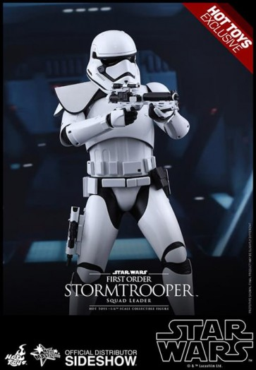 STAR WARS EPISODIO VII - STORMTROOPER SQUAD LEADER - 12' FIGURE HOT TOYS