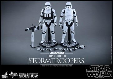STAR WARS EPISODIO VII - STORMTROOPERS SET - 12' FIGURE HOT TOYS