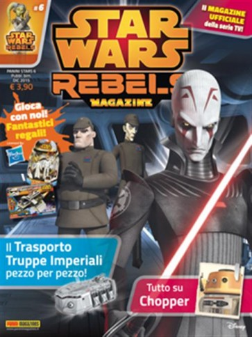STAR WARS REBELS MAGAZINE 6