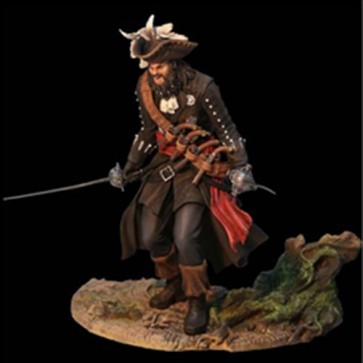 STATUA ASSASSIN'S CREED IV 4 BLACK FLAG BARBANERA BLACKBEARD: LEGENDARY PIRATE