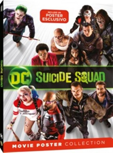 SUICIDE SQUAD - MOVIE POSTER - DVD