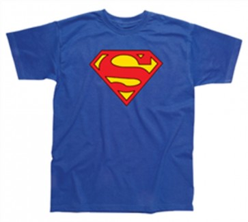 SUPERMAN - T-SHIRT UOMO - CLASSIC LOGO - M
