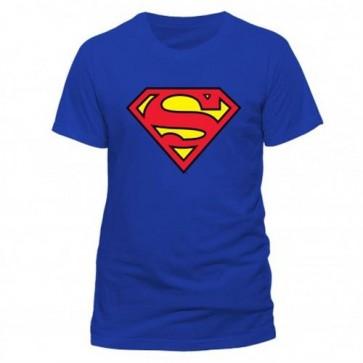 SUPERMAN - T-SHIRT UOMO - CLASSIC LOGO - S
