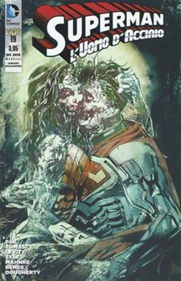 SUPERMAN L'UOMO D'ACCIAIO 19 - VARIANT HALLOWEEN
