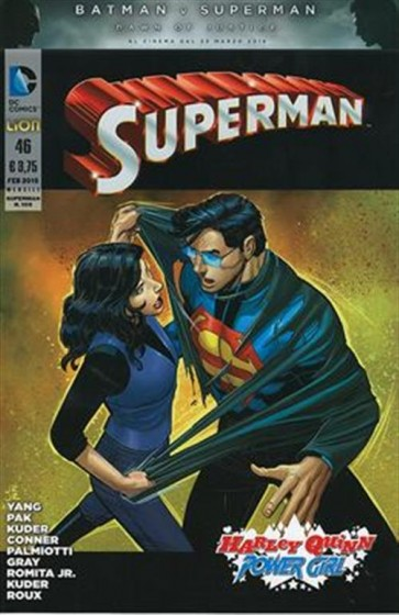 SUPERMAN THE NEW 52 (LION) 46