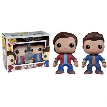 SUPERNATURAL - POP FUNKO VINYL FIGURE 2-PACK SAM & DEAN