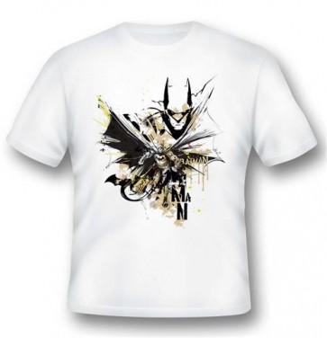 T-SHIRT BATMAN ILLUSTRATION XL - 2BNERD