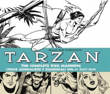 TARZAN: THE COMPLETE RUSS MANNING - STRISCE GIORNALIERE E DOMENICALI, VOL. 1 - 1967-1969