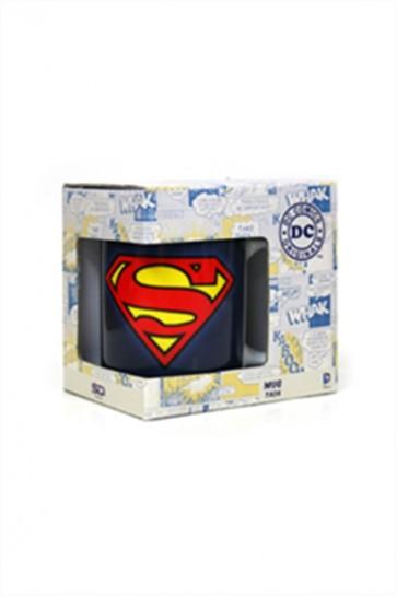 TAZZA GRANDE - SUPERMAN - DC COMICS UFFICIALE