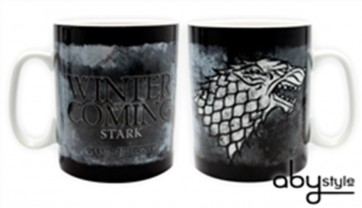 TAZZA LOGO STARK GAME OF THRONES HBO TRONO DI SPADE FORMATO GRANDE