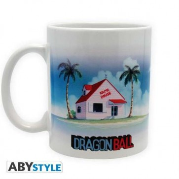 TAZZA MEDIA DRAGON BALL - KAME HOUSE