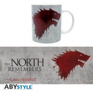 TAZZA MEDIA GAME OF THRONES - THE NORTH REMEBERS