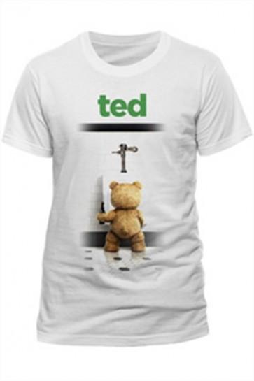 TED - T-SHIRT - BATHROOM - M