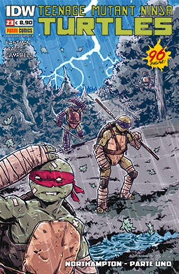 TEENAGE MUTANT NINJA TURTLES 23